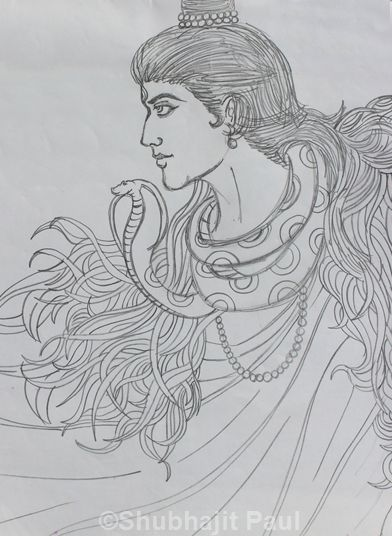 Lord SHIVA | Pencil Sketch | Pinterest | Lord, Shiva and ...