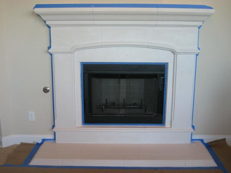 My New Faux Paint Fireplace   More Building Saga Completed. Paint FireplaceCast  Stone ...  Cast Stone Fireplace