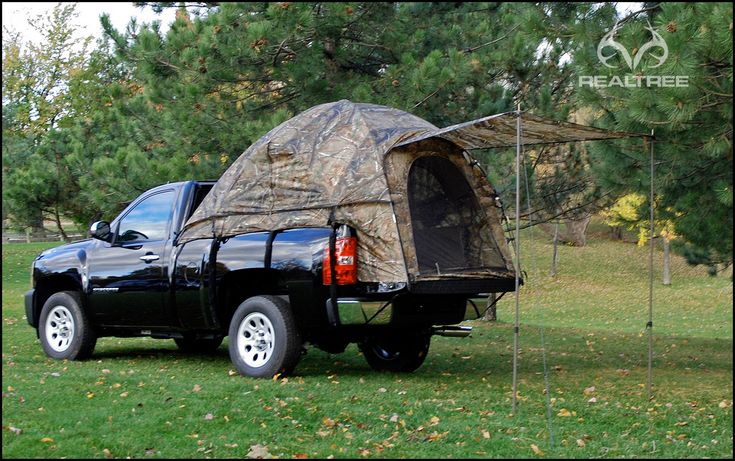 Realtreecamo Truck Bed Camping Tent Camouflage