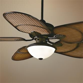 ceiling fans. Like that Liv?
