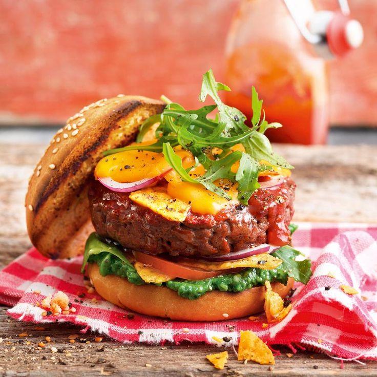 Rezept: American Beef Burger
