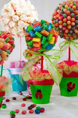 Elabora Coloridos, Deliciosos y Creativos Centros de Mesa (Paso a Paso)
