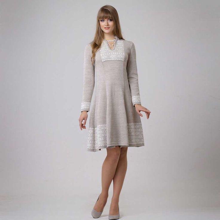 Платье из льна | Волтри | Артикул 13087