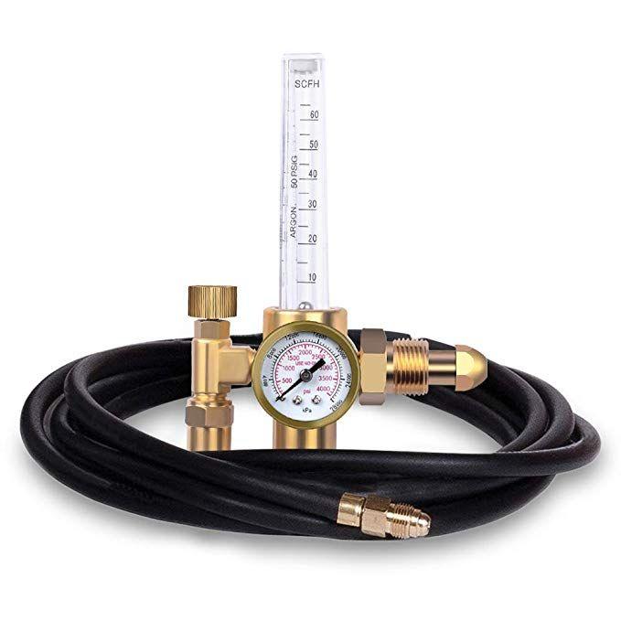 Ziss Co2 Argon Regulator With Gas Hose Tig Welder Review Gas Hose Tig Welder Welding Gas