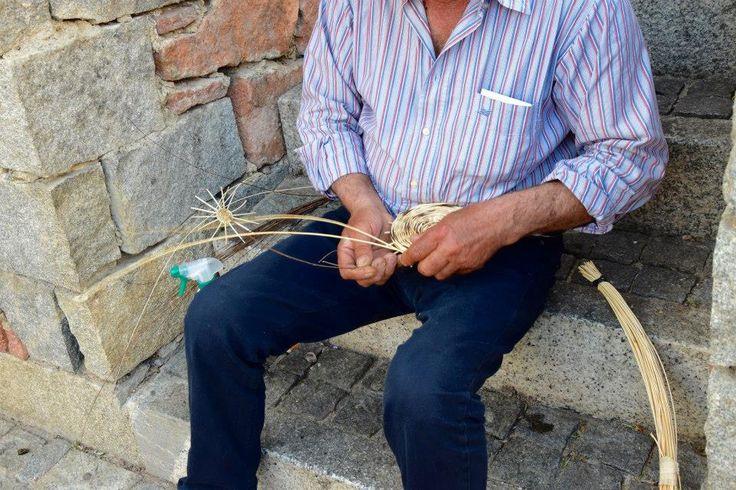 #Basket weaver, Lotzorai, #Ogliastra, Sardinia