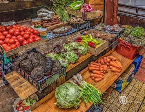 Vegetable Market - Puerto Varas by elkhorn2013  IFTTT 500px