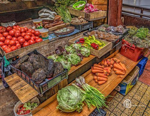 Vegetable Market - Puerto Varas by elkhorn2013  IFTTT 500px