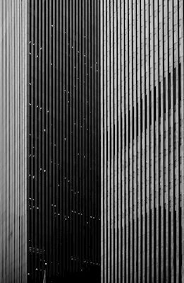 Artistic lines of Manhattans buildings in gray scale by photographer @onlycimek. Available as poster and laminated picture at printler.com, the marketplace for photo art.