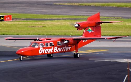 Great Barrier Airlines Trislander at Auckland Type: Britten-Norman BN-2A Mk3-2 Trislander Registration: ZK-LGF Location: Auckland International Airport Date: 17/11/2011