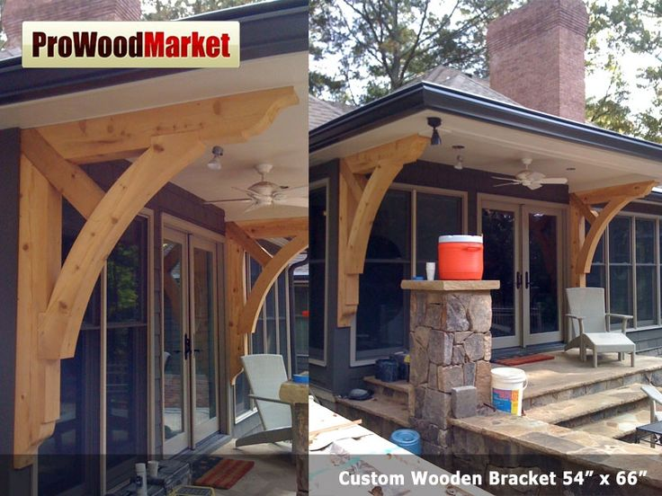 1000 images about brackets on pinterest front porch - Exterior structural wood brackets ...