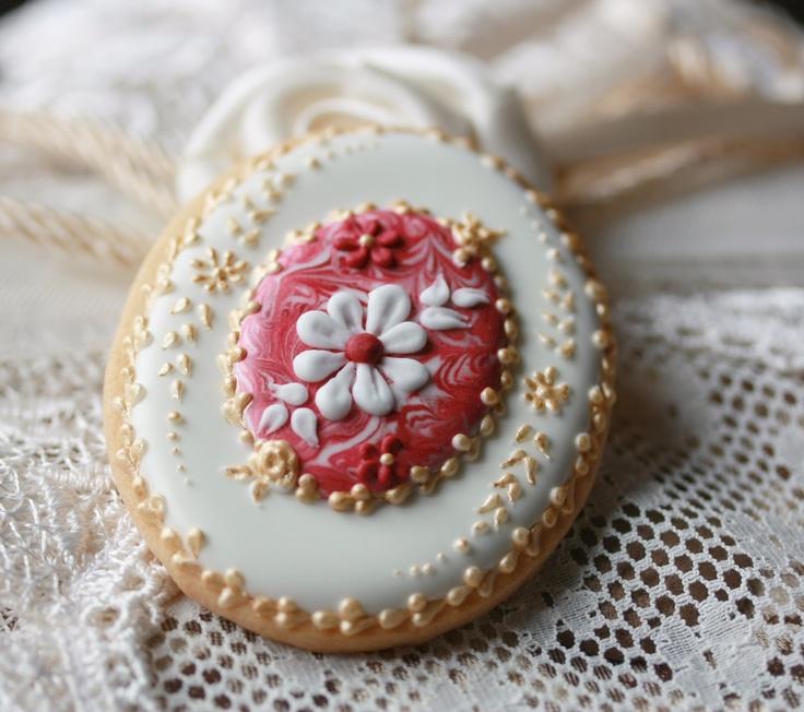 Donatella Semalo: Biscotti... biscotti... e ancora biscotti! :) so beautiful I don't know if i could eat it.