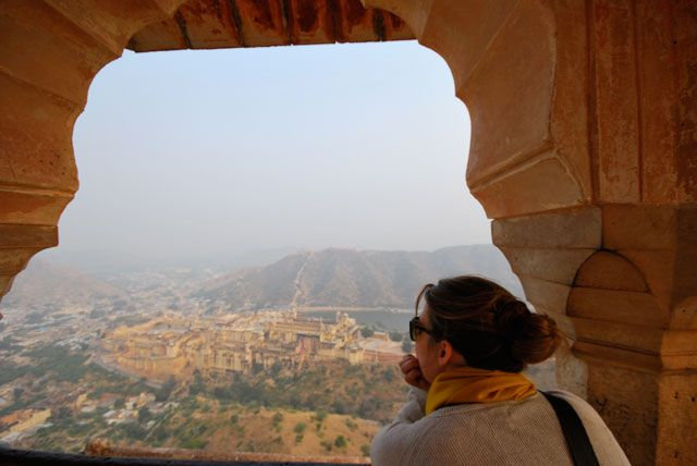 On your trip to India — take a taxi tour of Jaipur's outskirts and visit the city's impressive historic forts: Amber Fort, Jaigarh, Nahargarh & Jal Mahal.