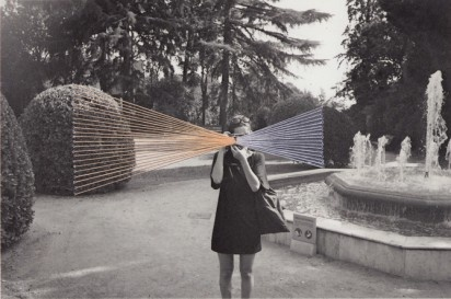 threaded/embroidered photographs