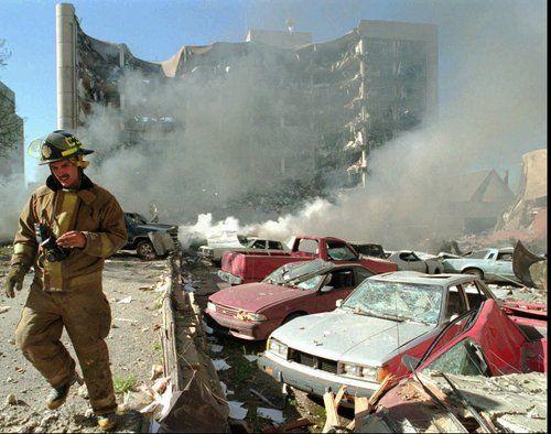 Oklahoma City Bombing. #1995