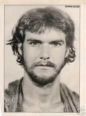 """A young Dennis Quaid - looks a little """"Mansion-ish""""! I'm just sayin..."""