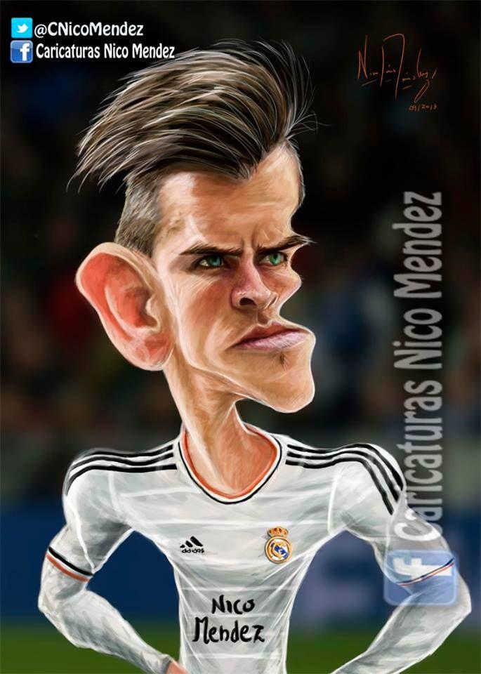 (Caricatura) Gareth Bale / Real Madrid.
