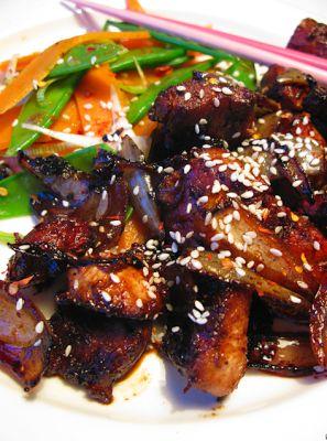 Provköket: Soja och honungsmarinerad kyckling med varm sallad