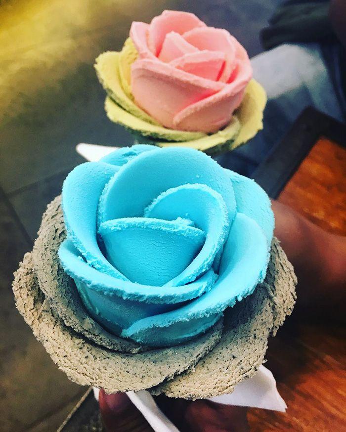 Rose Ice-cream Cones | I-Creamy