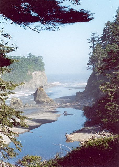 Neah Bay, Washington. Well since I live in WA might as well make a road trip :)
