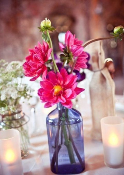 86 best summer wedding centerpieces images on pinterest flower 90 beautiful summer wedding centerpieces junglespirit Images