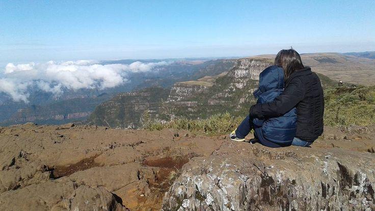 Tô nas nuvens em Urubici - Serra Catarinense. Olha esta vista?!! Incrível!