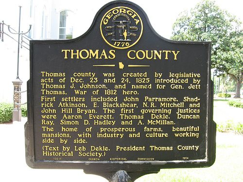 Thomas County Courthouse Thomasville GA We Stopped Off Here On Our Way Home To See The Big Oak And Rose Gardenboth Where Worth Turn