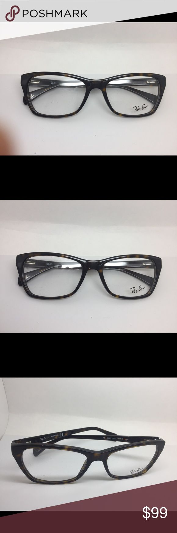 BRAND NEW DESIGNER AUTHENTIC RAY BAN EYEGLASSES. BRAND NEW DESIGNER AUTHENTIC RAY BAN EYEGLASSES. MODEL RB 5298 color 2012. CAT-EYE SHAPE IN TORTOISE COLOR ACETATE MATERIAL FRAME. PRESCRIPTION FRIENDLY. Ray-Ban Accessories Glasses