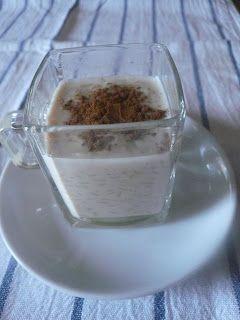 Los fogones de cruz: Arroz con leche al azúcar melado de caña