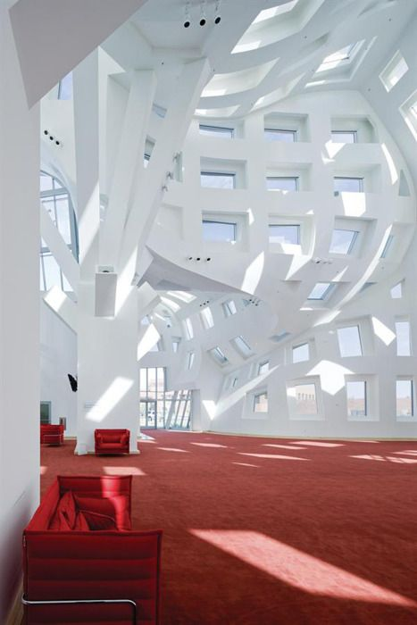 Lou Ruvo Center for Brain Health by Frank Gehry  The problem about having such a distinctive design language is that he will be pigeonholed for the rest of his career.