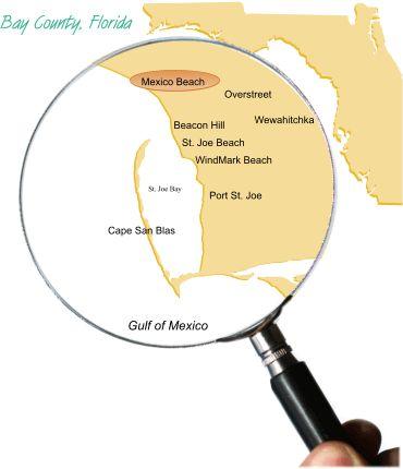 Mexico Beach Area Information | Mexico/St. Joe Beach Florida Real Estate, Vacation Rentals and Long Term Rentals - Mexico Beach Harmon Realty