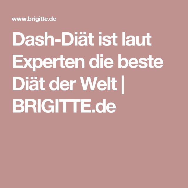 Dash-Diät ist laut Experten die beste Diät der Welt | BRIGITTE.de