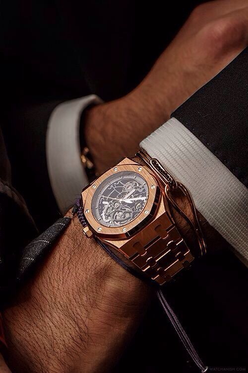 Anil Arjandas Rose Gold Ap Skeleton Watches Pinterest