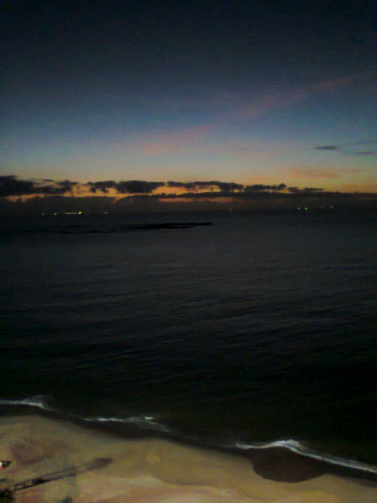 amanhece em Vilha Velha - ES - 01/2014