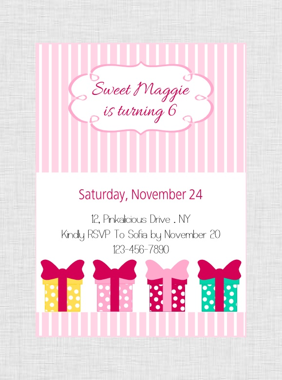 Printable Pinkalicious Party Package at our Etsy shop http://www.etsy.com/shop/BistrotChic