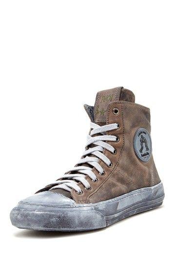 Lotta Libera High Bufalo Sneaker by Pantofola d'Oro Italy on @HauteLook