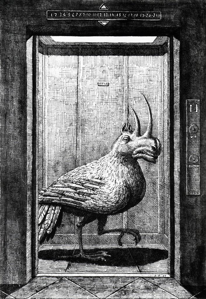 Domenico Gnoli - Modern Bestiary (1968)