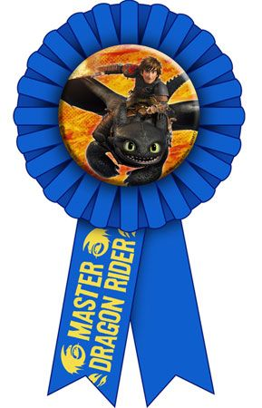How to Train Your Dragon 2 Guest of Honor Ribbon
