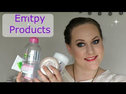 Empty Beauty Products - YouTube