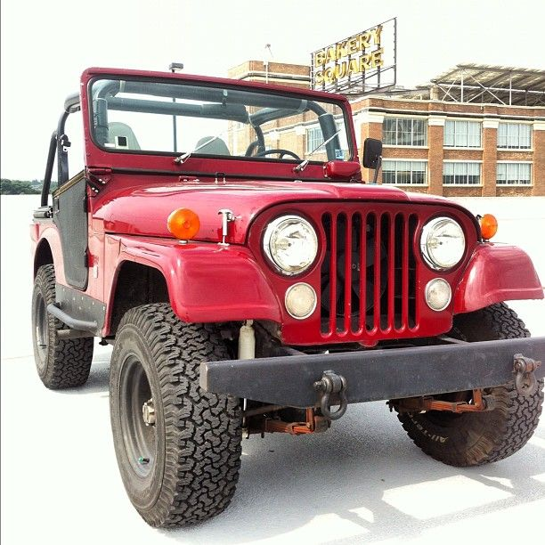 Jeep summers! ...my first wheels: '63 Willys (my color - sand)