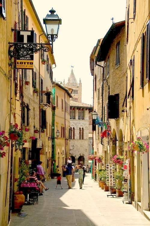 """""""Massa Marittima""""   Italy Grosseto Tuscany (by: Navid Fatehpour)"""