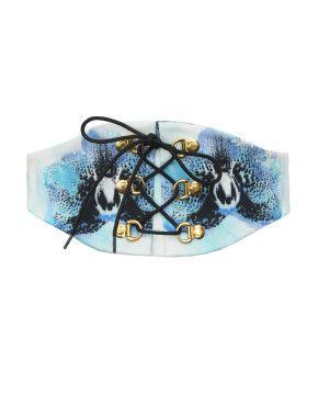 Blue Orchid Belt