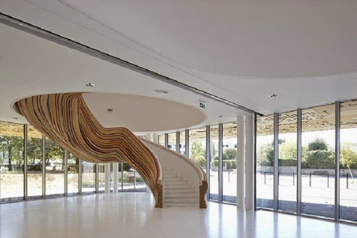 Timber Stripes Stairs