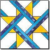 South Carolina Star quilt paper piecing block 12 inch block