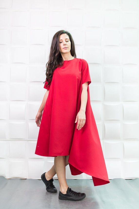 Rote kleider plus size