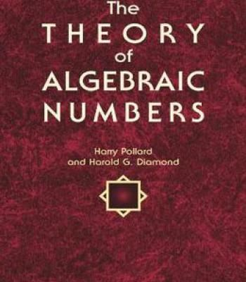 The Theory Of Algebraic Numbers PDF