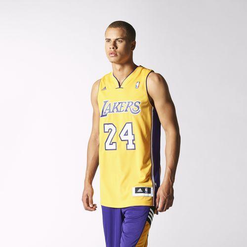 adidas - Regata Swingman Lakers Home - Kobe Bryant