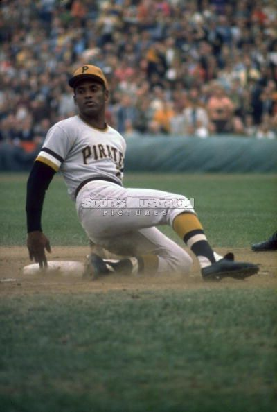 """""""I was born to play baseball."""" Roberto Clemente (1934 -1972) The first Latin American to be elected to the MLB Hall of Fame (1973)."""