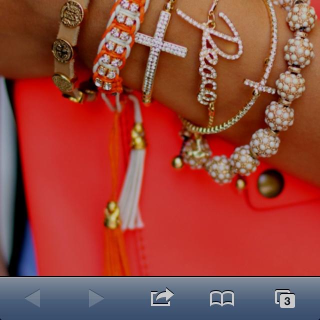 Love the brackets: Arm Candy, Style, Clutches, Peace, Stacking Bracelets, Armcandi, Layered Bracelets, Arm Parties, Crosses Bracelets