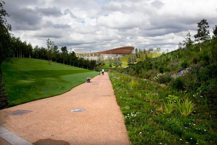 LDA Design, Hargreaves Associates · Olympic Park. Parklands and public realm
