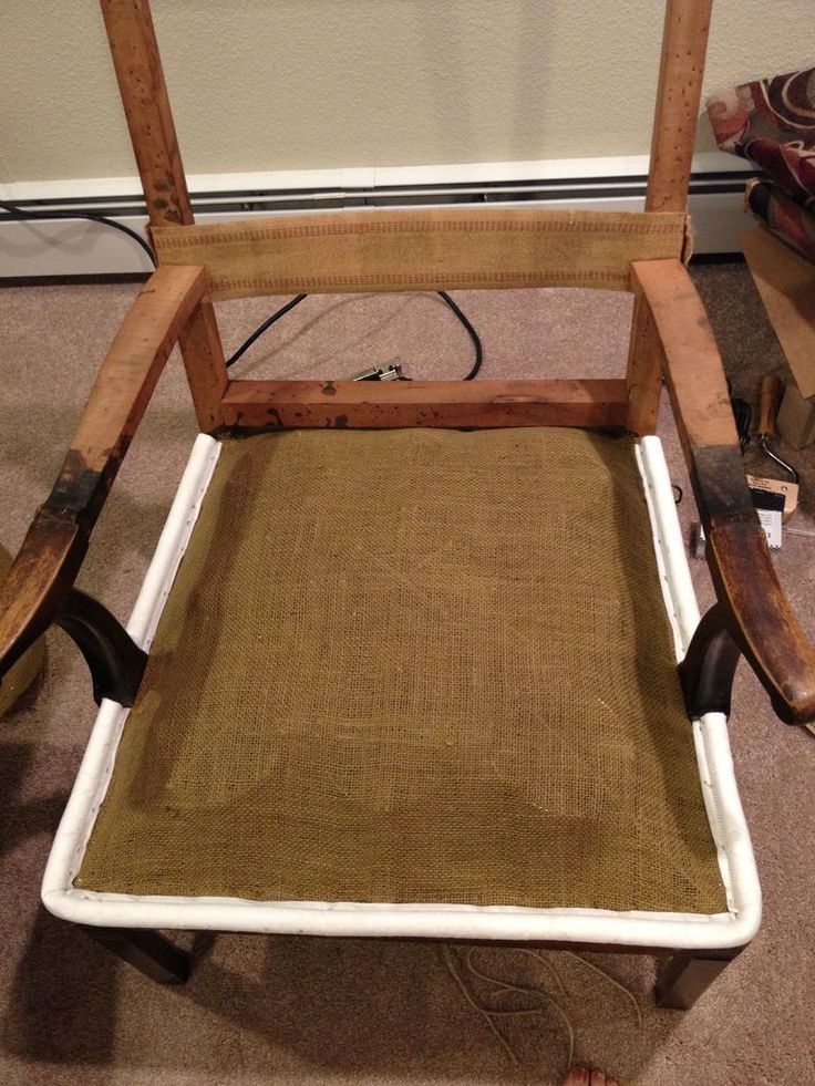 Adding Stuffing To Wingback Chair